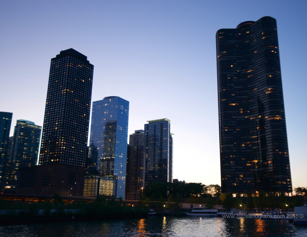 Chicago Skyline Best Seen On A Twilight River Cruise