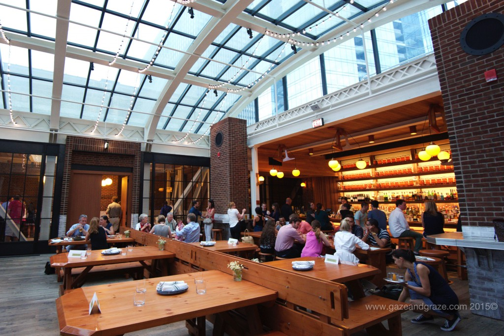 Chicago athletic association new hotel has great food for The terrace bar and food