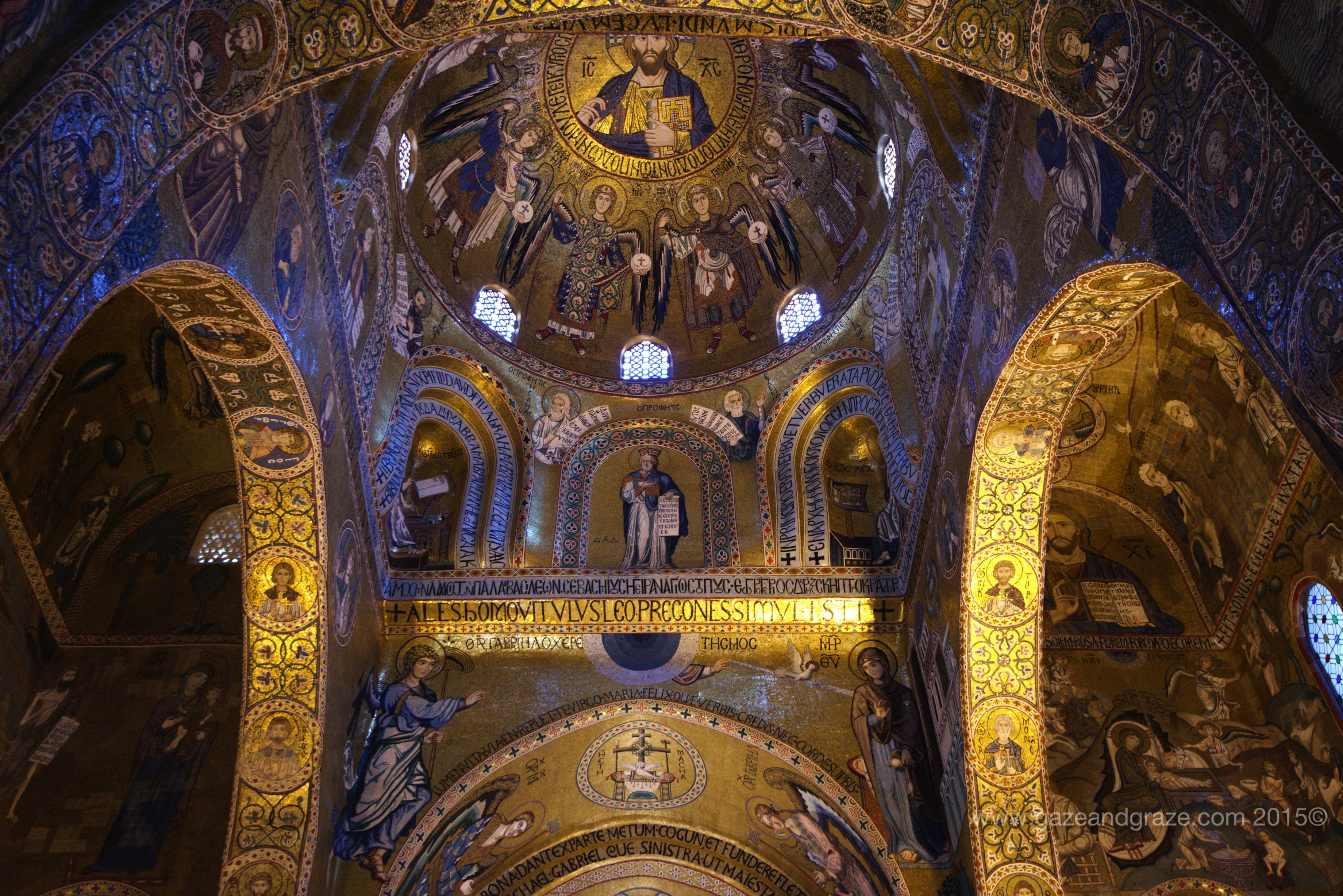 Palatine chapel in Palermo