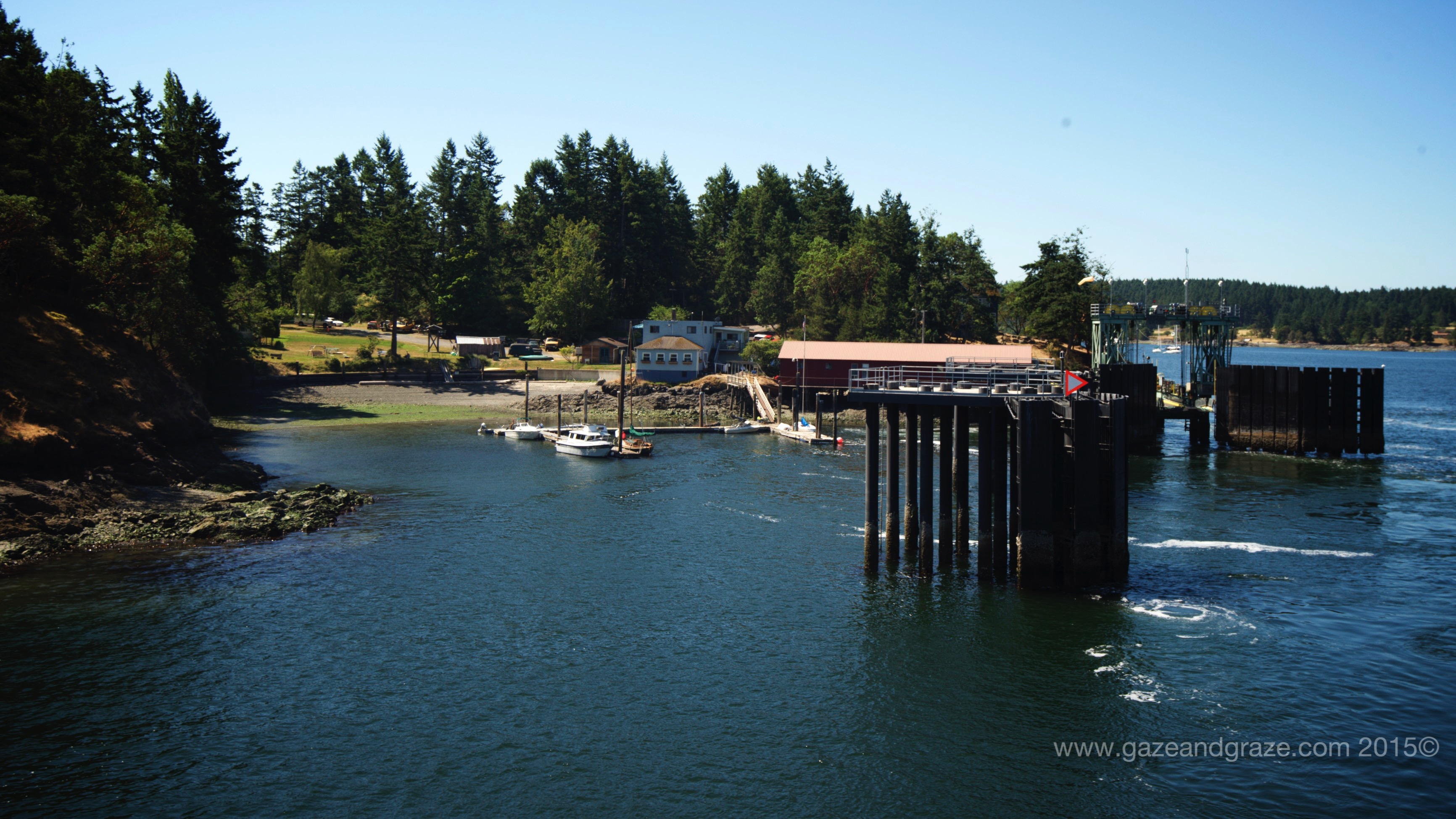San Juan Islands' Lopez Island
