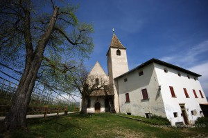 A church among the vines in the Alto Adige