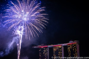 Singapore rehearses its Golden Jubilee fireworks