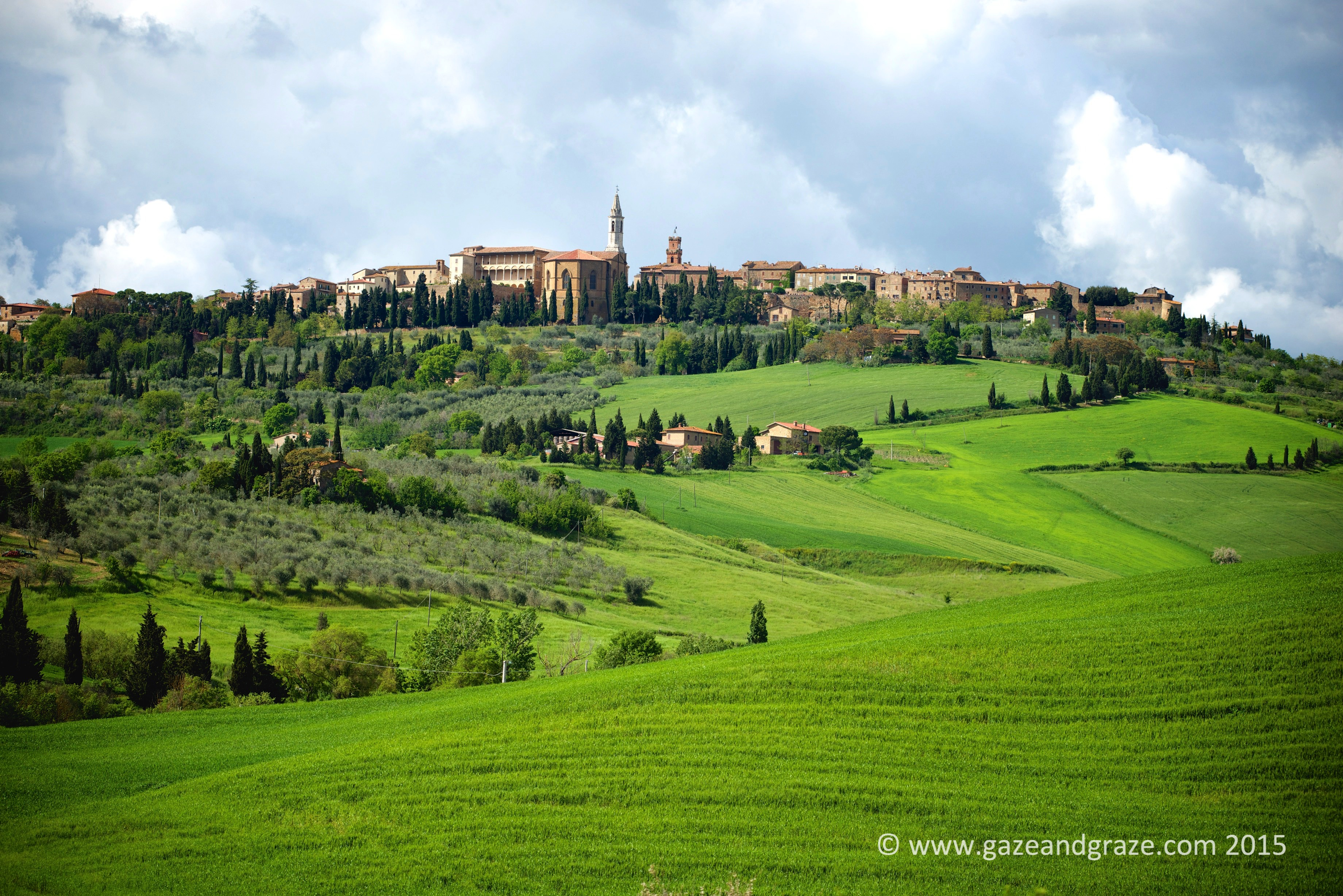 Pienza and its city walls