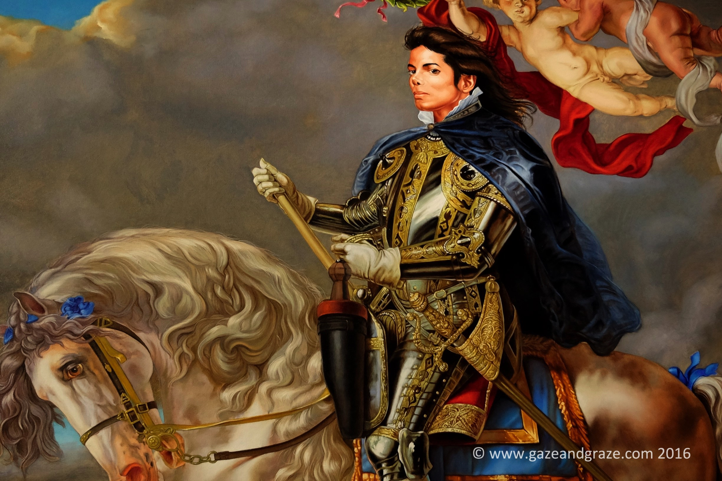 Kehinde Wiley Michael Jackson Based On Equestrian