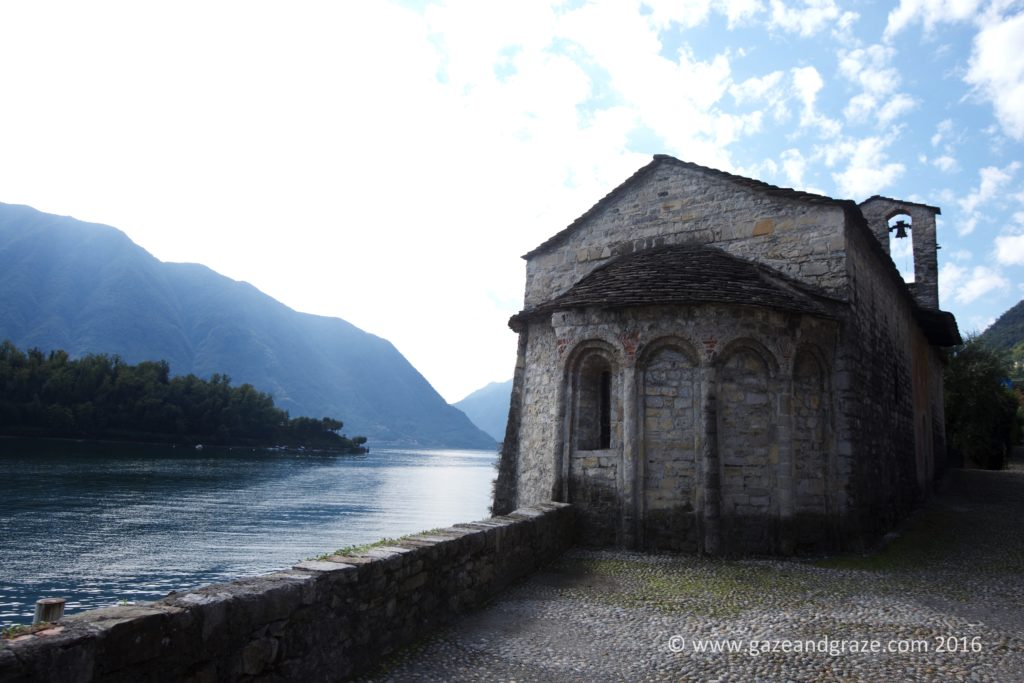 San Giacomo at Ossuccio and Sala Comacina