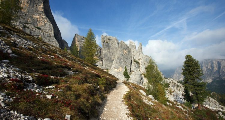 Dolomites trails