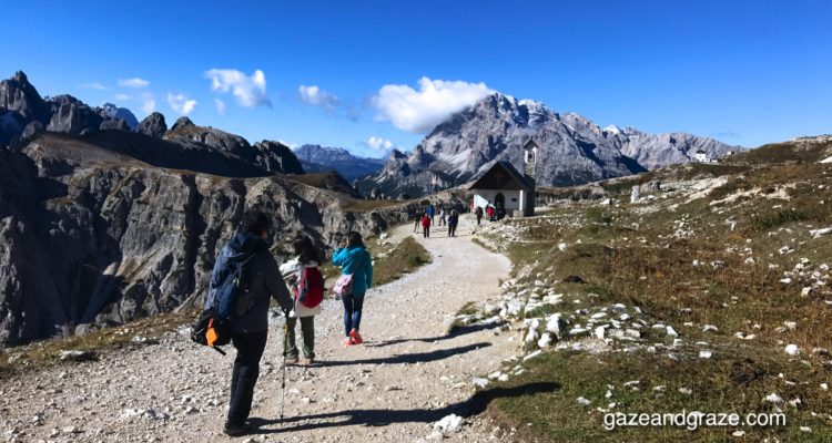 Dolomites walks